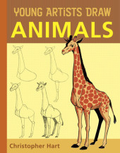 Young Artists Draw Animals Cover