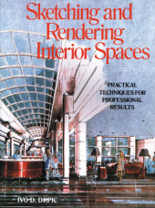 Sketching and Rendering of Interior Spaces Cover