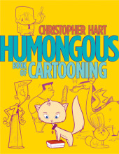 Humongous Book of Cartooning Cover