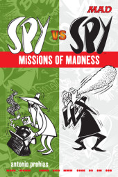 Spy vs Spy Missions of Madness Cover