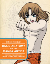 Basic Anatomy for the Manga Artist Cover