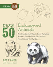 Draw 50 Endangered Animals Cover