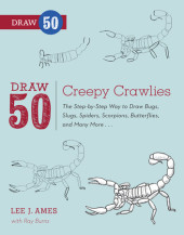 Draw 50 Creepy Crawlies Cover