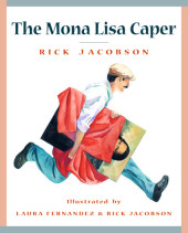 The Mona Lisa Caper Cover
