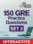 150 GRE Practice Questions, Set 2 (Interactive)