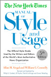 The New York Times Manual of Style and Usage, 2015 Edition