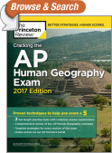 Cracking the AP Human Geography Exam, 2017 Edition
