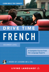 Drive Time French: Beginner Level Cover