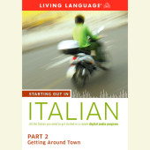 Starting Out in Italian: Part 2--Getting Around Town Cover