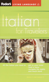 Fodor's Italian for Travelers (Phrase Book), 3rd Edition Cover