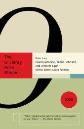 The O. Henry Prize Stories 2003 Cover