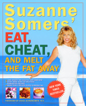 Suzanne Somers' Eat, Cheat, and Melt the Fat Away Cover
