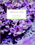 Rebecca Cole Tranquility Signature Vertical Note Cards
