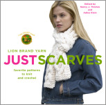 Lion Brand Yarn: Just Scarves