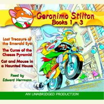 Geronimo Stilton: Books 1-3 Cover