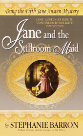 Jane and the Stillroom Maid Cover