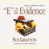E Is for Evidence Cover