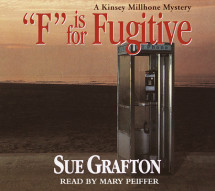 F Is for Fugitive Cover