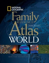 National Geographic Family Reference Atlas of the World, Third Edition Cover