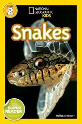 National Geographic Readers: Snakes! Cover