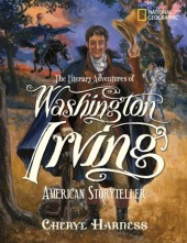 The Literary Adventures of Washington Irving Cover