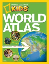 NG Kids World Atlas Cover