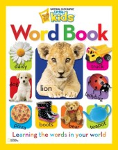 National Geographic Little Kids Word Book Cover