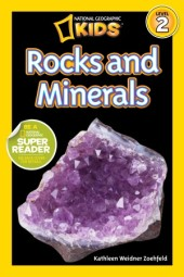 National Geographic Readers: Rocks and Minerals Cover
