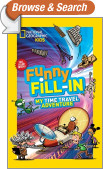 National Geographic Kids Funny Fill-in: My Time Travel Adventure