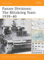 Panzer Divisions: The Blitzkrieg Years 1939-40 Cover