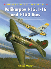 Polikarpov I-15, I-16 and I-153 Aces Cover