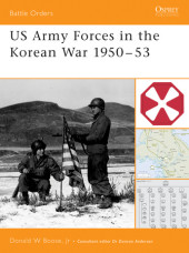 US Army Forces in the Korean War 1950-53 Cover