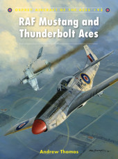 RAF Mustang and Thunderbolt Aces Cover