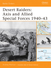 Desert raiders: Axis and Allied Special Forces 1940-43 Cover