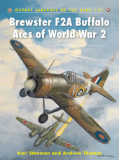 Brewster F2A Buffalo Aces of World War 2 Cover