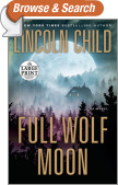 Full Wolf Moon - Large Print