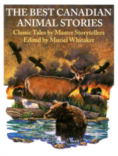 The Best Canadian Animal Stories Cover