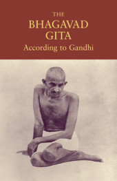 The Bhagavad Gita According to Gandhi Cover