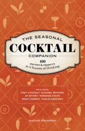 The Seasonal Cocktail Companion Cover