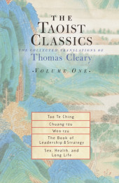 The Taoist Classics, Volume 1 Cover