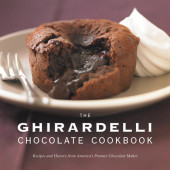The Ghirardelli Chocolate Cookbook Cover