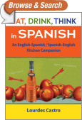 Eat, Drink, Think in Spanish
