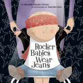 Rocker Babies Wear Jeans Cover