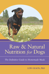 Raw and Natural Nutrition for Dogs Cover