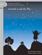 Teacher's Quest Guide: Aristotle Leads the Way Cover