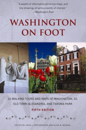Washington on Foot, Fifth Edition Cover