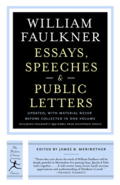 Essays, Speeches & Public Letters Cover