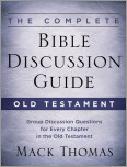 The Complete Bible Discussion Guide: Old Testament