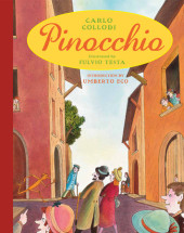 Pinocchio (illustrated) Cover