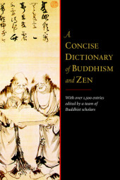 A Concise Dictionary of Buddhism and Zen Cover